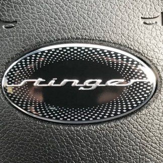 stinger steering wheel emblem badge for kia stinger
