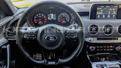 e steering wheel for kia stinger