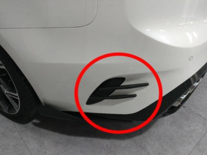 kia stinger rear back vent devil claws
