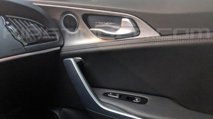 kia stinger door catch plate