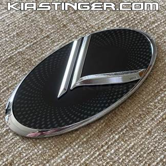 chrome vintage k badges emblems for kia stinger