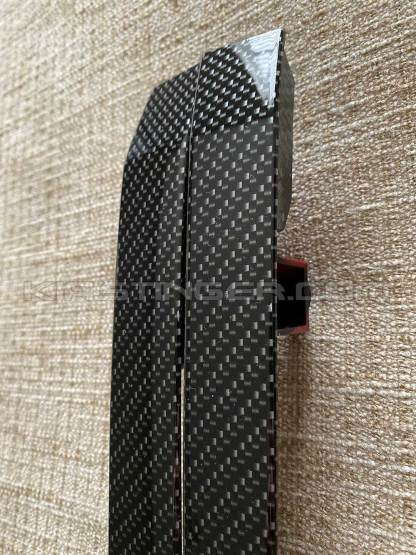 carbon fiber rear side reflectors kia stinger