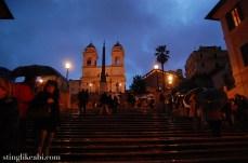 Scalinata di Trinita dei Monti (the Spanish Steps)