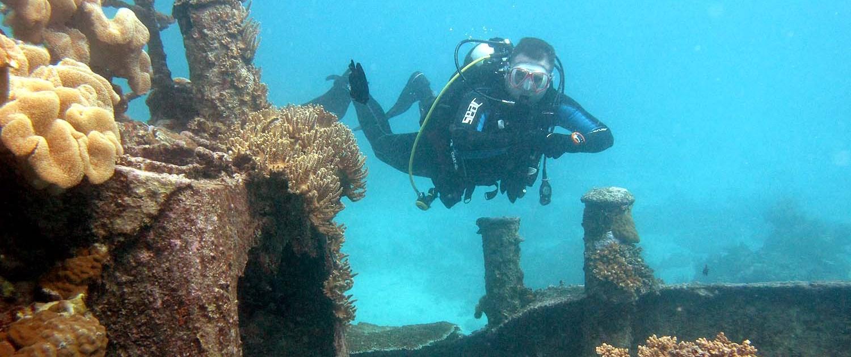 Stingray Divers - PADI Spezialkurs Wracktauchen