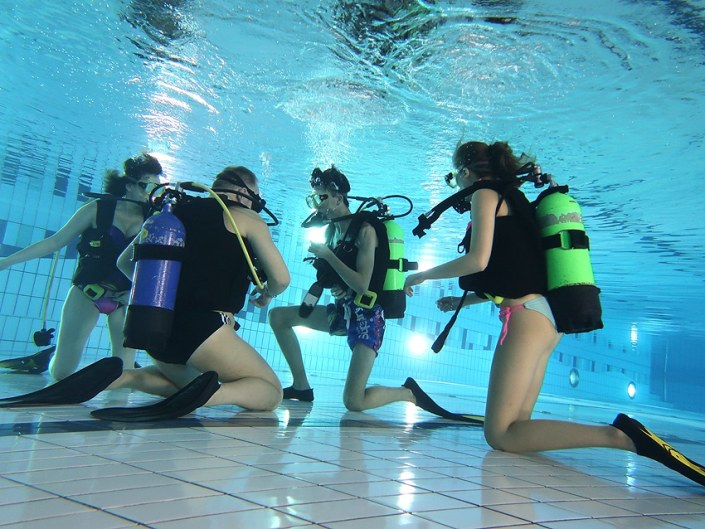 Open Water Diver Kurs, Nov. 2018