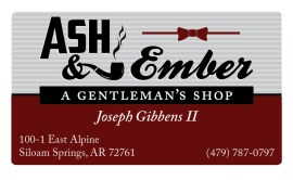 Ash&Ember's business card