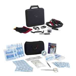 Roadside Safety Package- Includes First aid kit, Highway Safety Kit $175