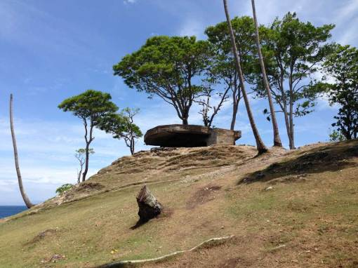 Japanese bunker Anoi Itam, Pulau Weh island guide