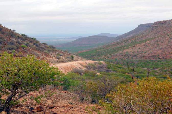 Grootberg pass, Palmwag. Road trip Namibia