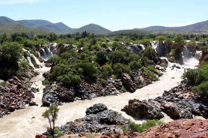 Epupa Falls, Northern Namibia. One week itinerary for Namibia