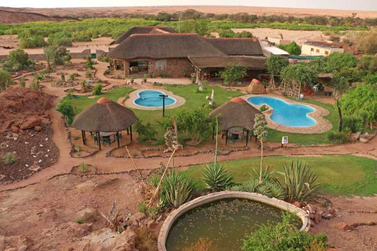 Brandberg lodge and campsite, Namibia