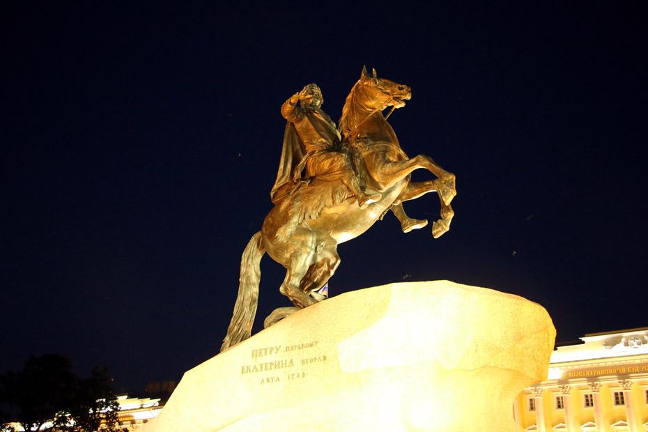 The Bronze Horseman, St.Petersburg