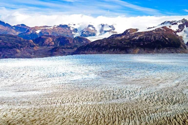 Grey Glacier, John Gardner pass, O circuit