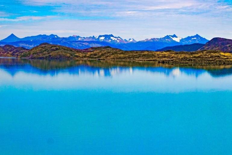 Lago Pehoe trail, Torres del Paine, Patagonia