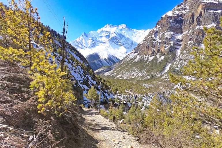 Fantastic scenery on the Annapurna trek