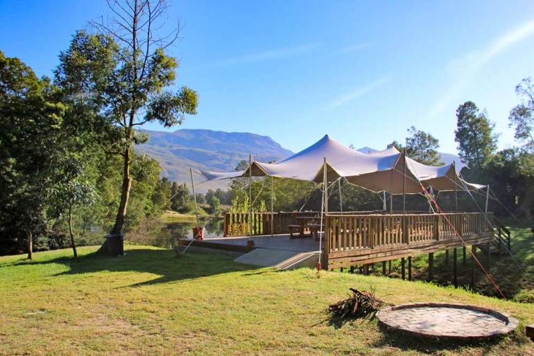 Beautiful Khomeesdrif campsite near Riviersonderend