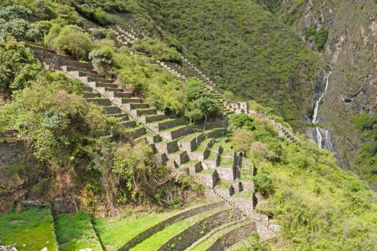 Lower Choquequirao ruins, Peru
