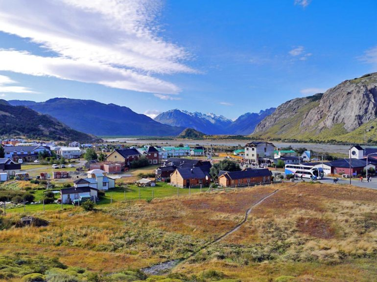El Chalten, cozy but quite expensive little town in Argentinian Patagonia.