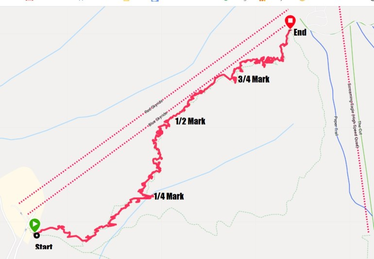 Grouse Grind Map Garmin Fenix 5
