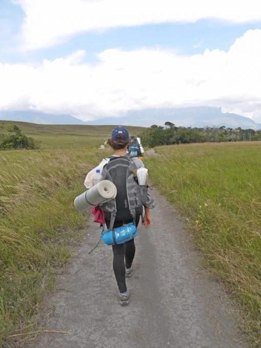 hiking to mount roraima