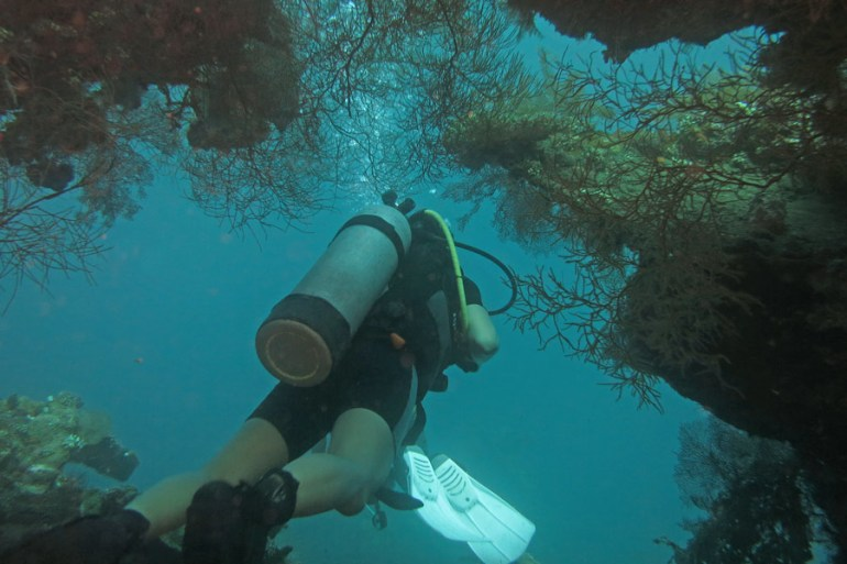 Diving on USAT Liberty