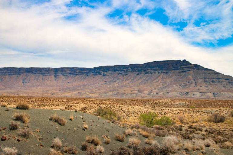 The fantastic scenery in one of the National Park in Northern Cape