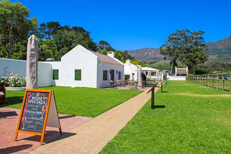 Tasting, eat and shop your way around the Heritage Market at Constantia Uitsig, a walking lane lined by charming white restored laborer's  cottages that host a range of artisan craft producers.
