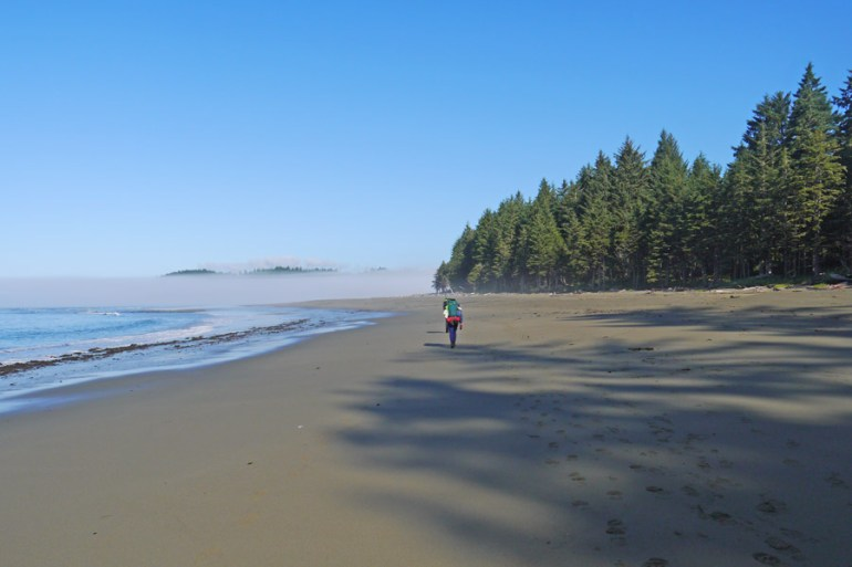 beach hike vancouver islan