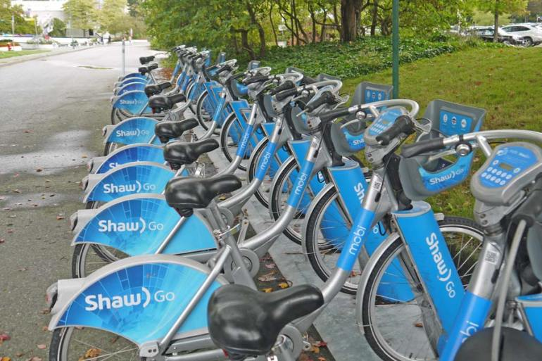 Mobi by ShawGO in Downtown Vancouver