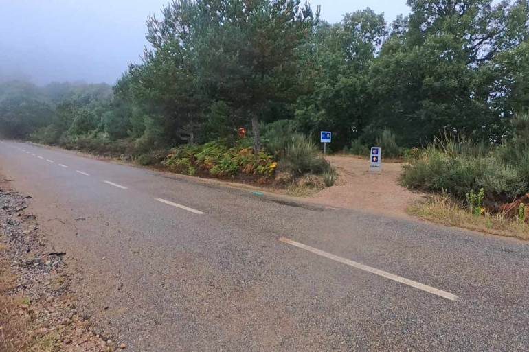 Early morning weather on the Camino de Santiago in late September