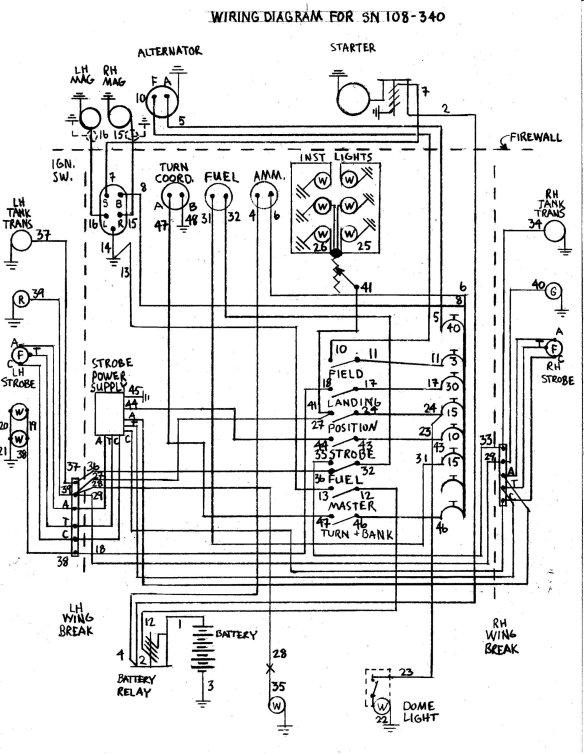 Wiring Diagrams   International Stinson ClubInternational Stinson Club