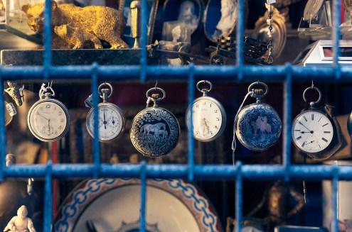 Curio shop window