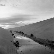Fank Gohlke, Irrigation Canal, Albuquerue, New Mexico, 1974, George Eastman House Collections