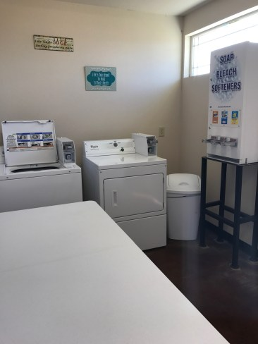 RV Park Laundry Pic 2