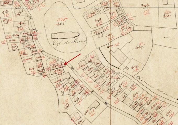 Minuutplan 1811-1832