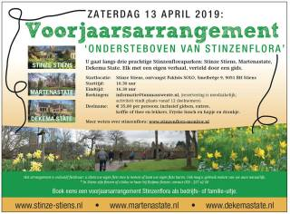 Voorjaarsarrangement Stinzenflora 13 april