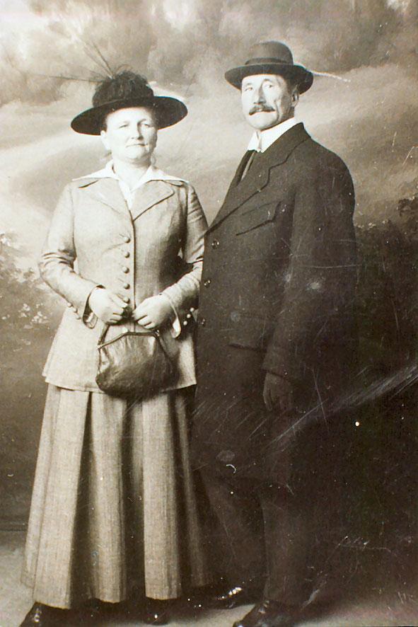 Hendrik Hooghoudt en Menna Hofstee