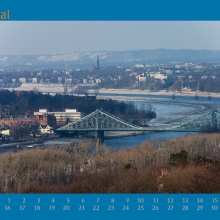 Januarblatt Kalender 2007