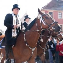 Osterreiter in Bautzen