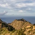 Unterwegs bei Vallehermoso und am Roque Cano