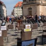 Leere Stühle – damit es volle Stühle gibt