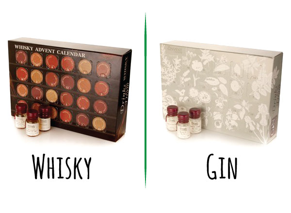 Whisky and Gin Advent Calendars // stirandstrain.com
