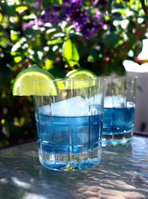 Violet's Garden Party Cocktail // stirandstrain.com
