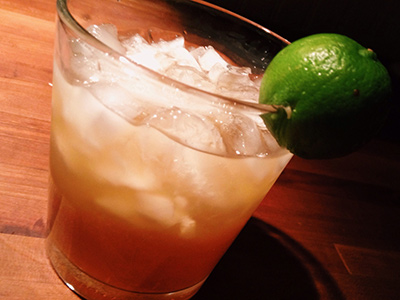 Key Lime Amaretto Sour Cocktail MxMo Roundup // stirandstrain.com
