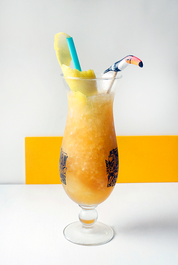 "Mixology Monday: The South American Hurricane a.k.a. the ""Perfect"" Hurricane // stirandstrain.com"