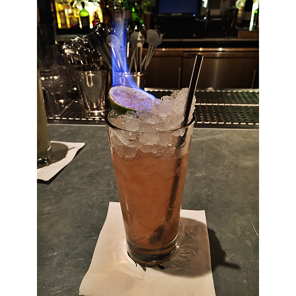Monday Booze News: This drink is on fire // stirandstrain.com