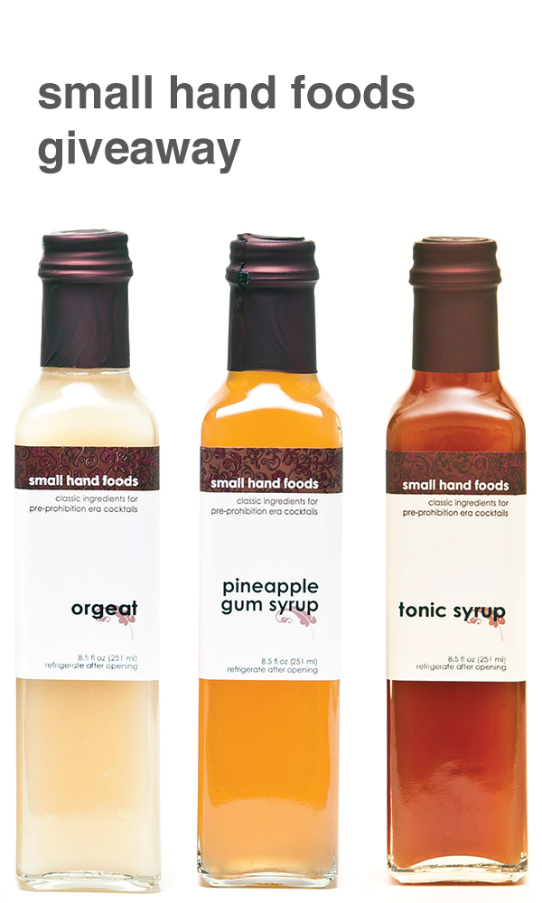Giveaway - Small Hand Foods 3 Pack Syrups // stirandstrain.com