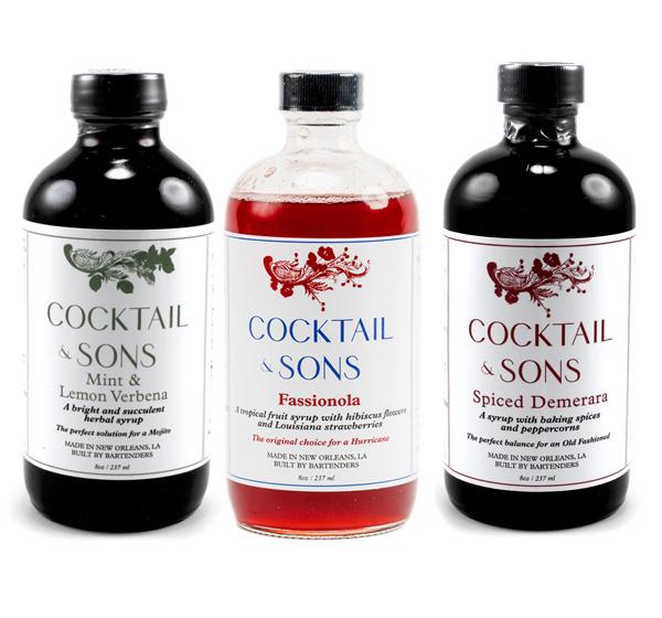 Giveaway: Cocktail & Sons Syrups // stirandstrain.com