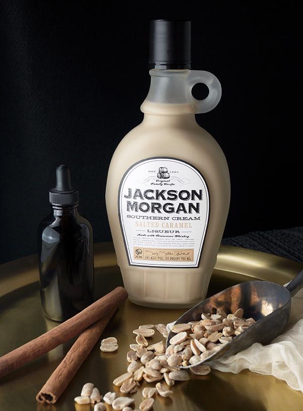 Jackson Morgan Salted Caramel and Peanut-Infused Whiskey Cocktails // stirandstrain.com
