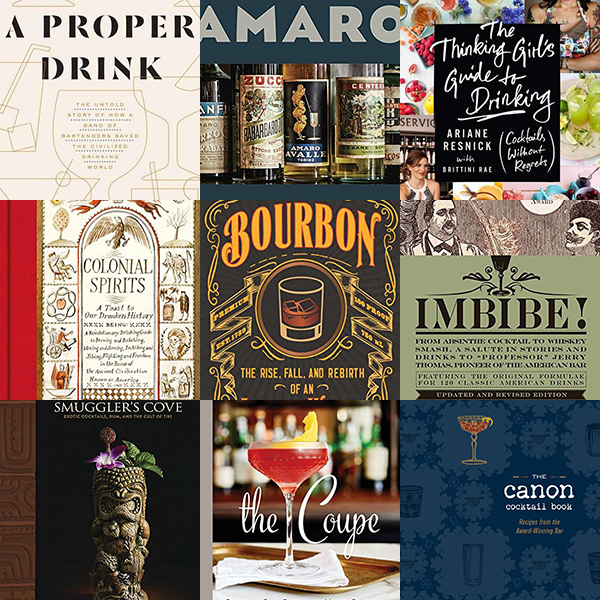 Gift Guides: Recommended Reading for Cocktail Books 2016 // stirandstrain.com
